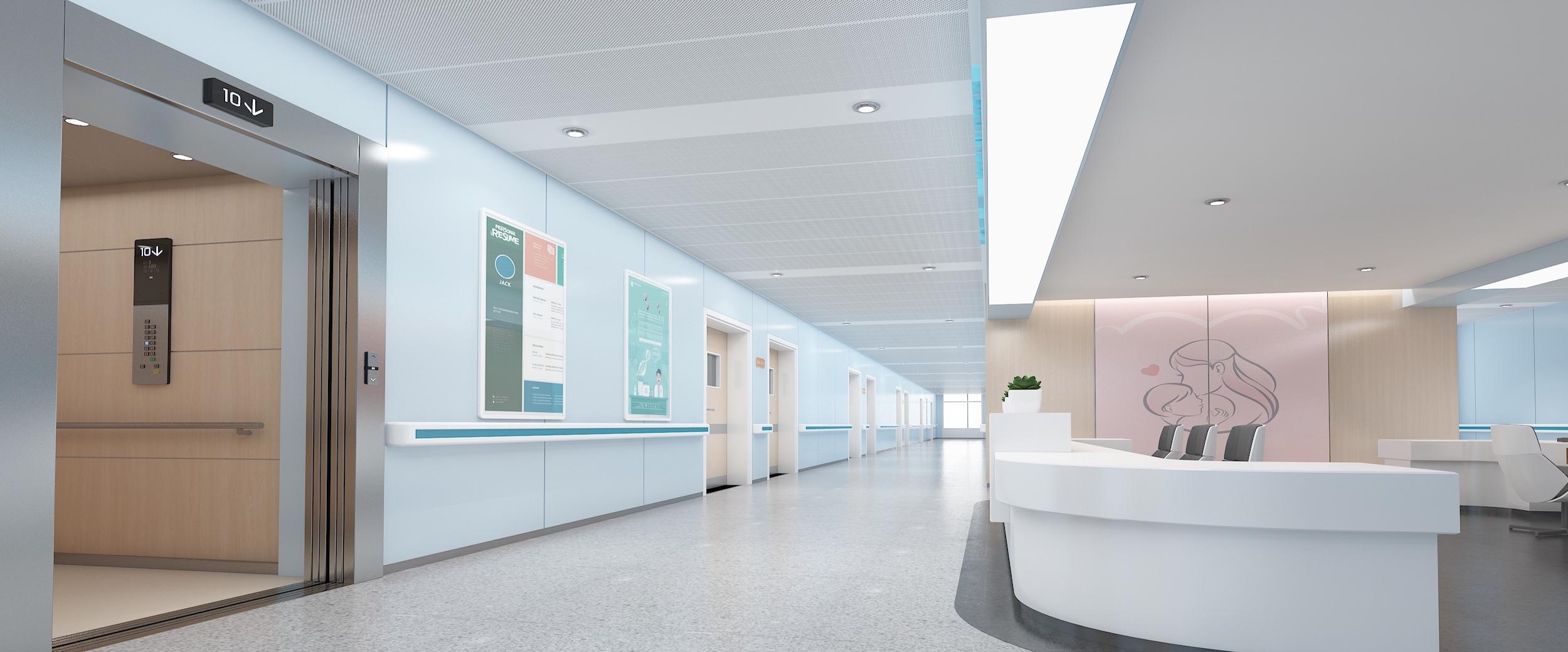 威盛亚医疗板医疗空间一体化解决方案